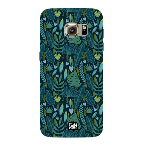 Green Leaves - Samsung Galaxy S7 Phone Cover