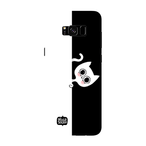 Stealth Cat - Samsung Galaxy S8 Phone Cover