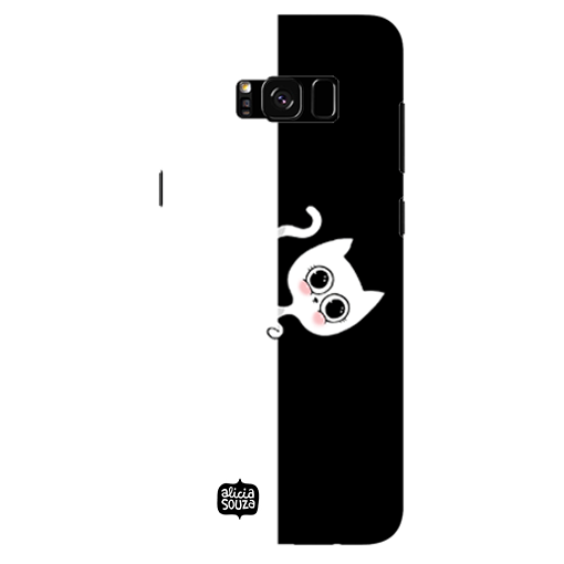 Stealth Cat - Samsung Galaxy S8 Plus Phone Cover