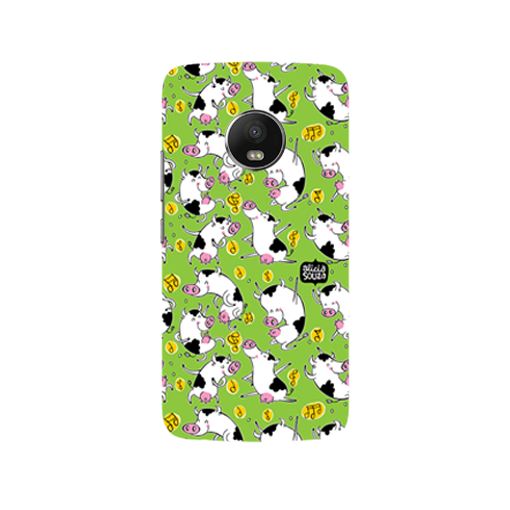 Dancing Cow - Moto G5  Phone Cover