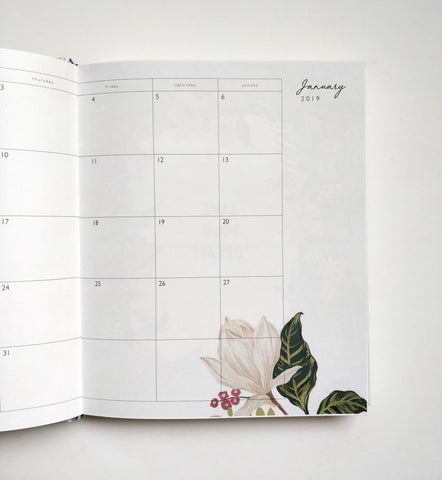 2019 Planner | Day dream