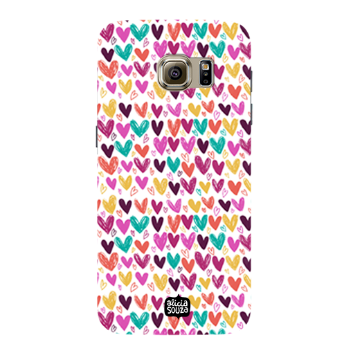 Hearts - Samsung Galaxy S7 Phone Cover