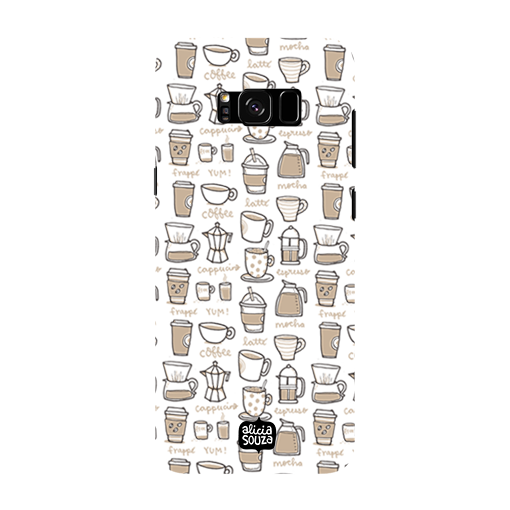 Coffee - Samsung Galaxy S8 Phone Cover