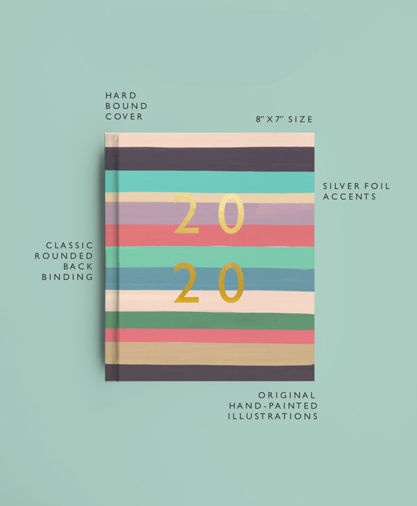 2020 Planner | Beach Stripes