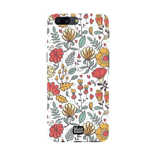 Big Flowers - Oneplus 5 Phone Cover