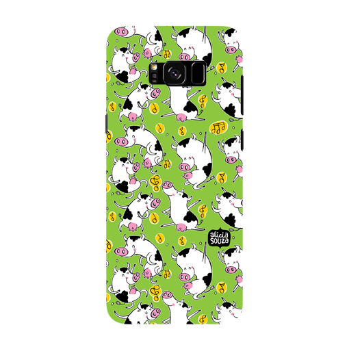 Dancing Cow - Samsung Galaxy S8 Phone Cover