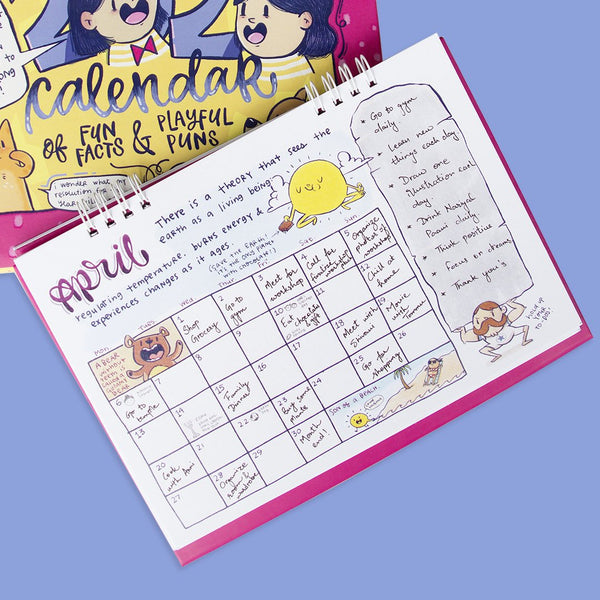 PRE ORDER : 2020 Planner And Desk Calendar Combo
