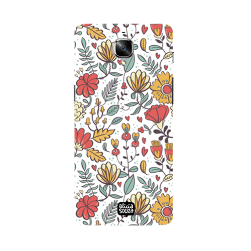 Big Flowers - Oneplus 3 Phone Cover