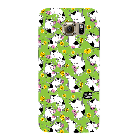 Dancing Cow - Samsung Galaxy S7 Phone Cover