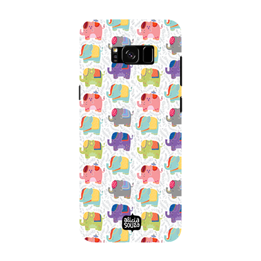 Elephants - Samsung Galaxy S8 Phone Cover