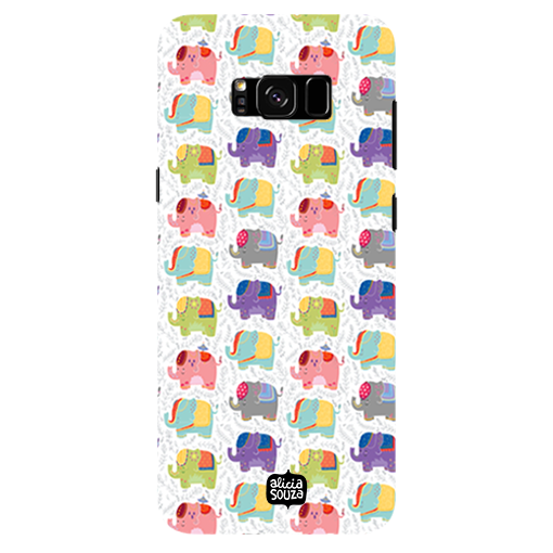 Elephants - Samsung Galaxy S8 Plus Phone Cover
