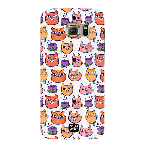 Happy Cats - Samsung Galaxy S7 Phone Cover