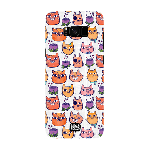 Happy Cats - Samsung Galaxy S8 Phone Cover