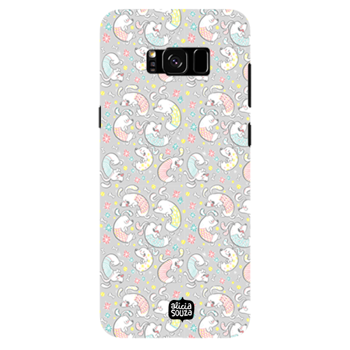 Curly Dog - Samsung Galaxy S8 Plus Phone Cover