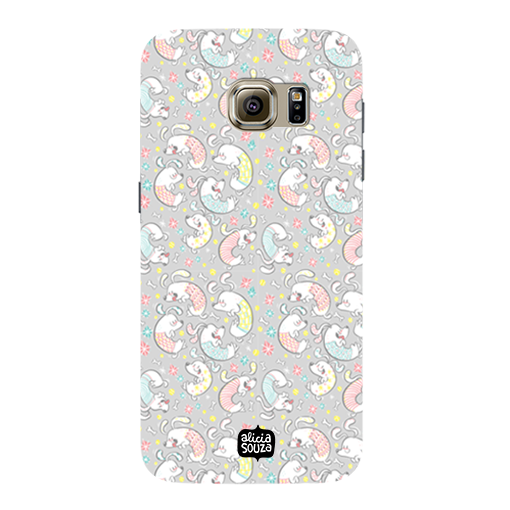 Curly Dog - Samsung Galaxy S7 Phone Cover