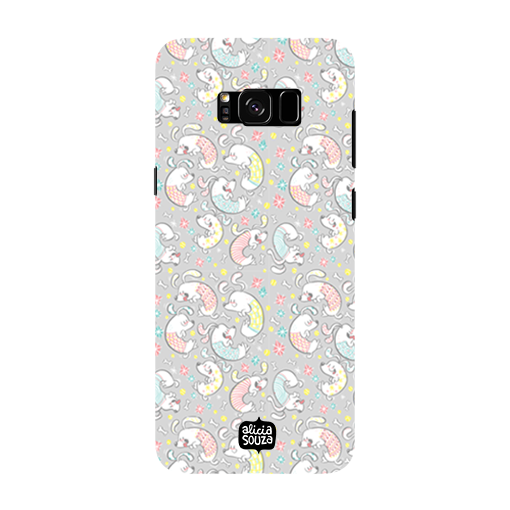 Curly Dog - Samsung Galaxy S8 Phone Cover