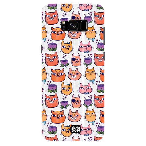 Happy Cats - Samsung Galaxy S8 Plus Phone Cover