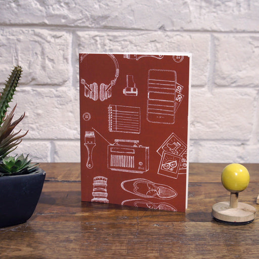 Notebook | Red Travelogue - TheInkBucketstore