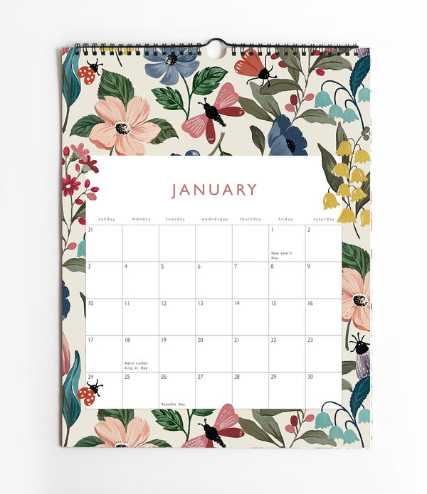 2021 Wall Calendar | Appointment