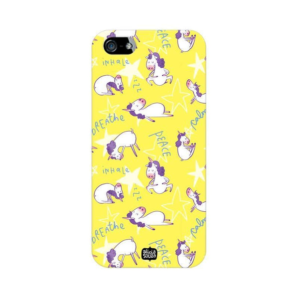 Yoga Unicorn - iPhone 5/ 5S Phone cover