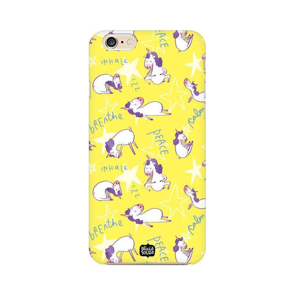 Yoga Unicorn - iPhone 6 / 6s phone cover