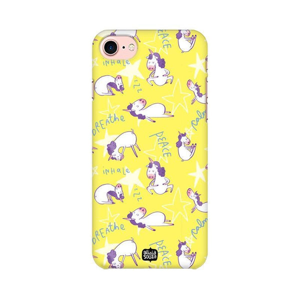 Yoga Unicorn - iPhone 8 Phone Cover