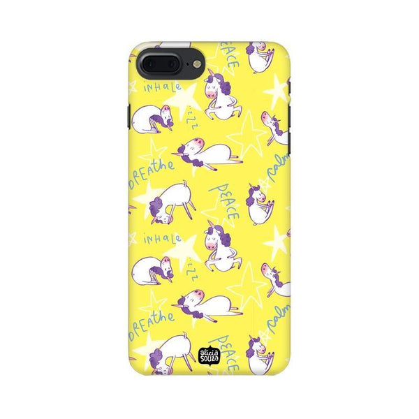 Yoga Unicorn - iPhone 8 Plus Phone Cover