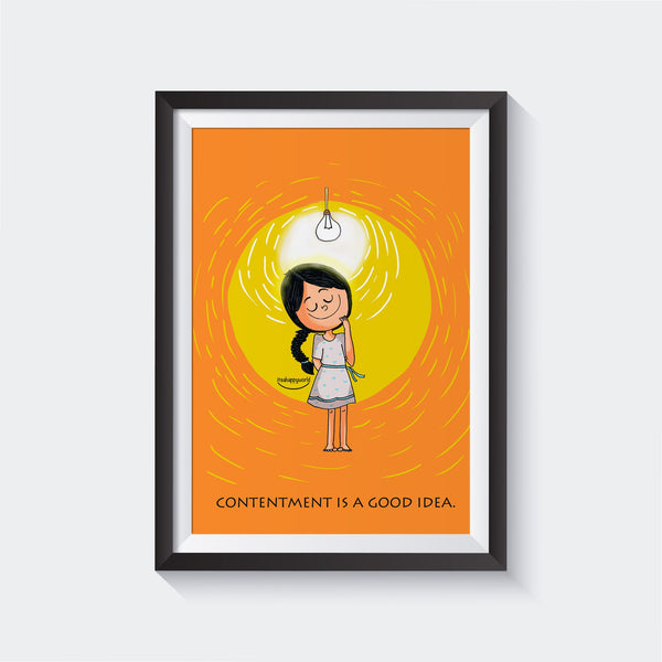 Contentment Wall Art