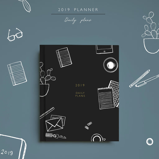 2019 Planner | Daily Plans