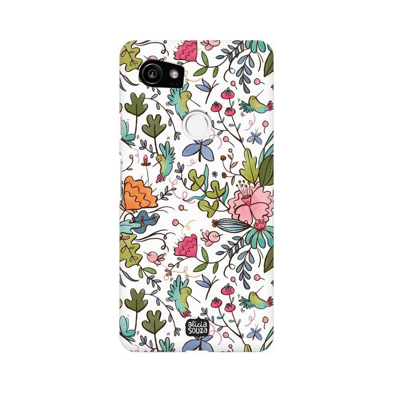 Humming Bird White - Google Pixel XL 2 Phone Cover