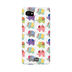 Elephants - Google Pixel XL 2 Phone Cover