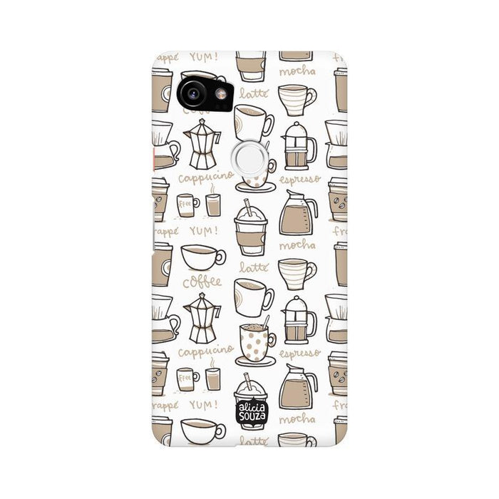 Coffee - Google Pixel XL 2 Phone Cover