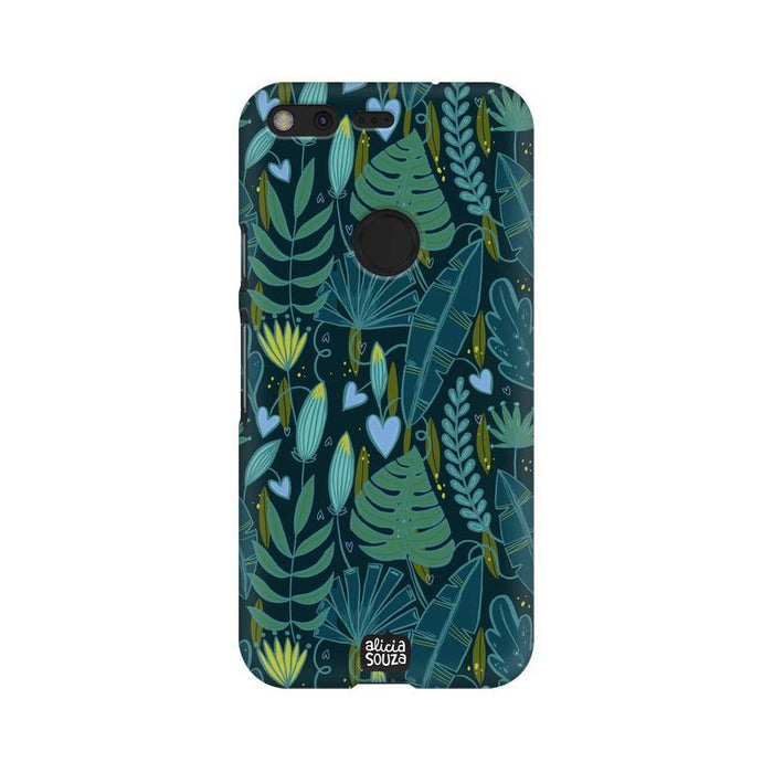 Green Leaves - Google Pixel XL Phone Cover