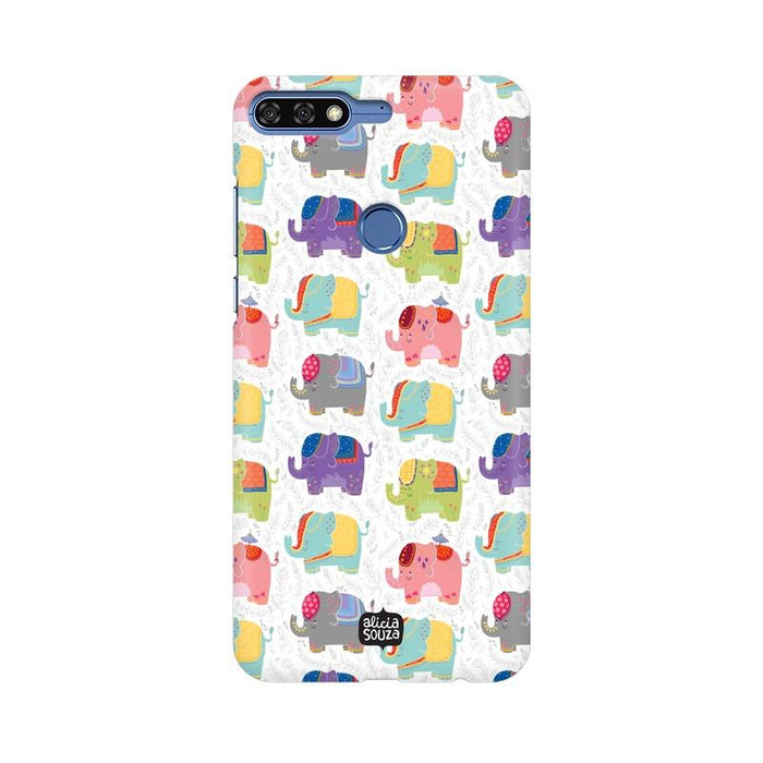 Elephant - Honor 7c Phone Cover