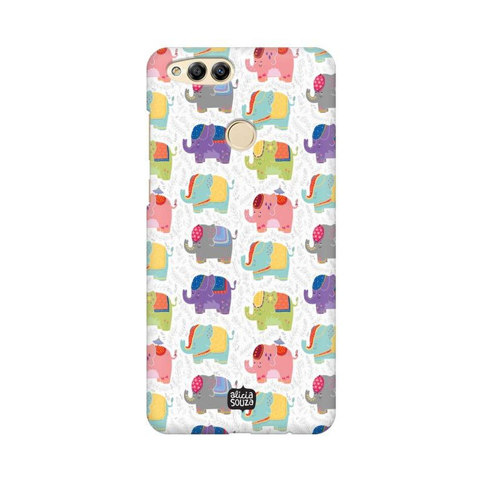 Elephant - Honor 7x Phone Cover