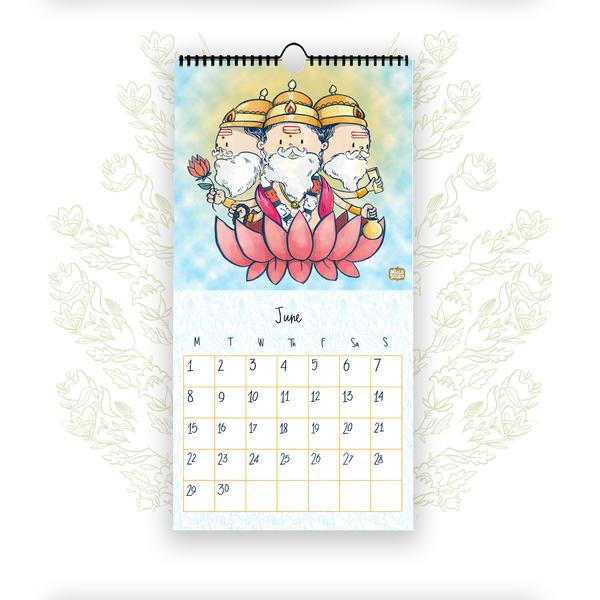 The Blessings - 2020 Wall Calendar