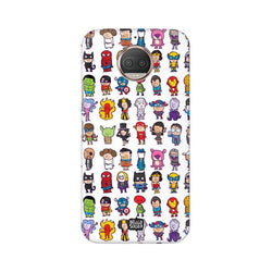 Superhero - Moto E4+ Phone Cover