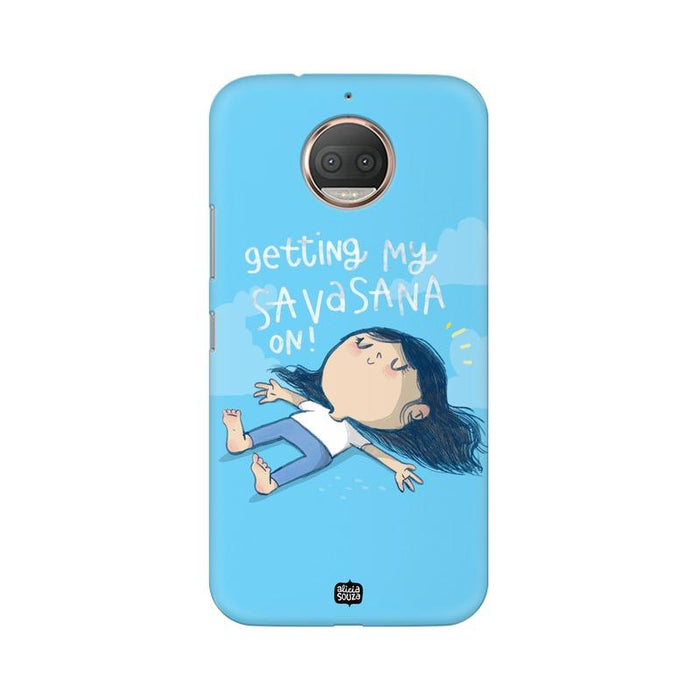 Savasana - Moto E4+ Phone Cover
