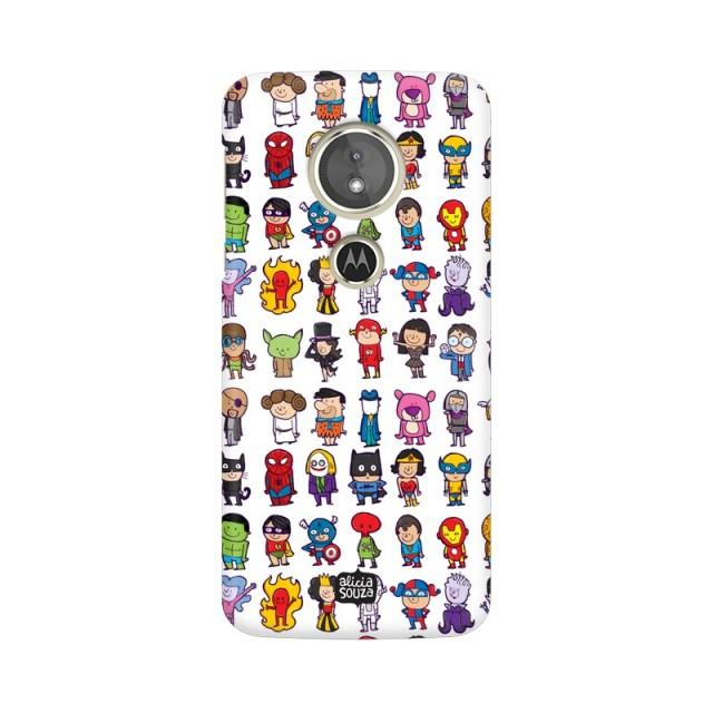 Superhero - Moto E5+ Phone Cover