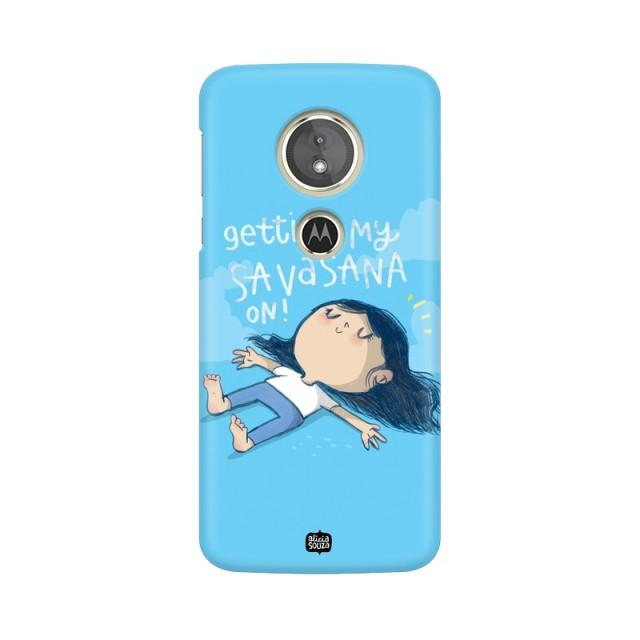 Savasana - Moto E5+ Phone Cover