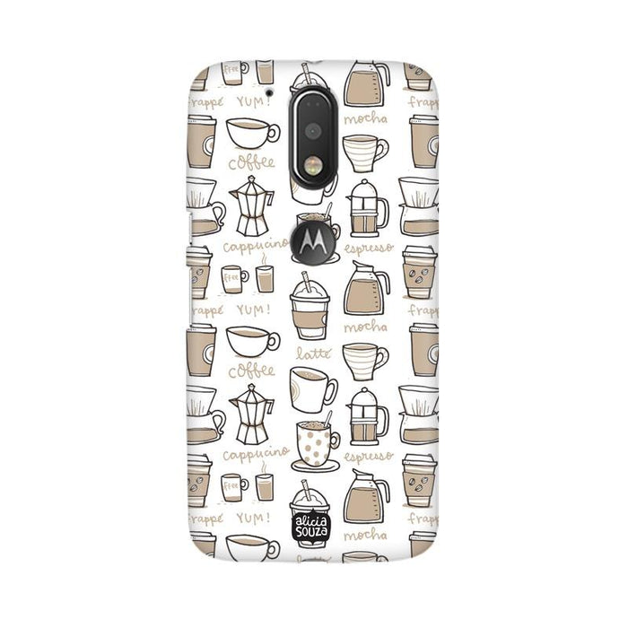 Coffee - Moto G4+ Phone Cover