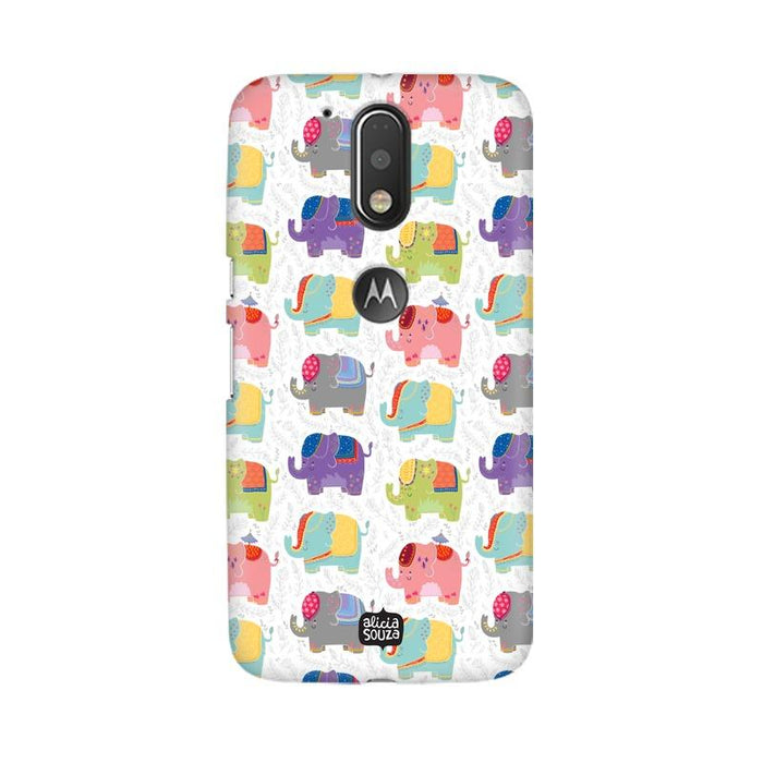 Elephant - Moto G4+ Phone Cover