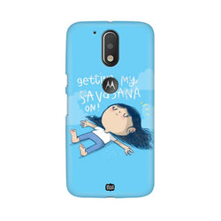 Savasana - Moto G4+ Phone Cover