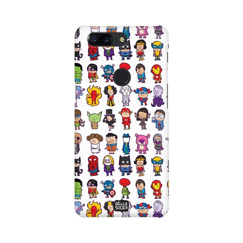 Superhero - OnePlus 5T Phone Cover