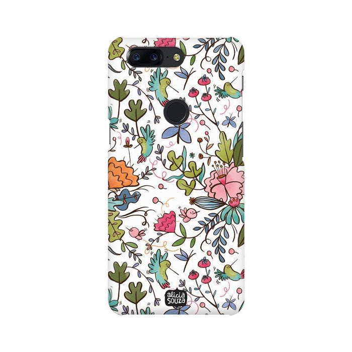 Humming Bird White - OnePlus 5T Phone Cover