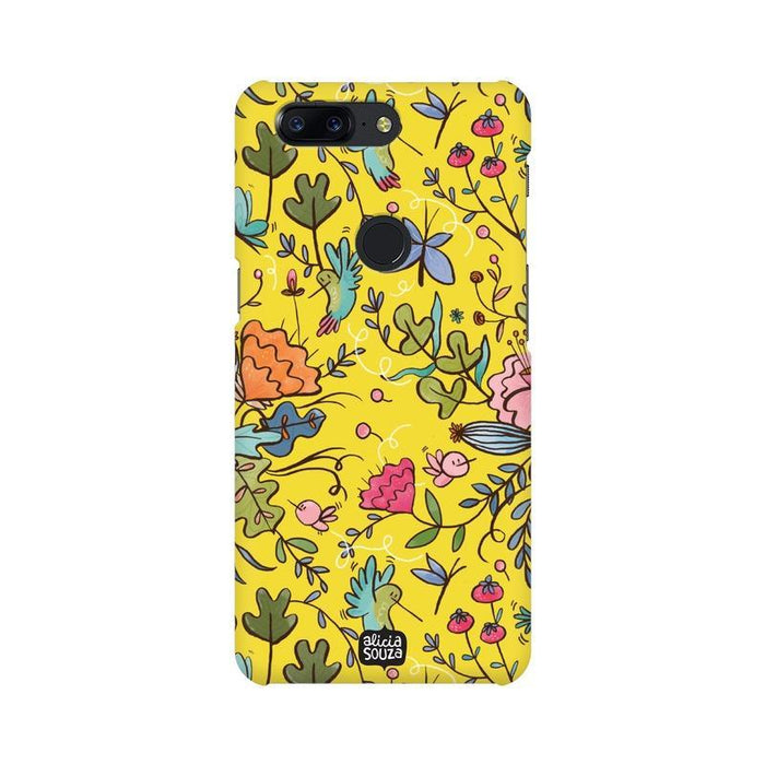 Humming Bird Yellow - OnePlus 5T Phone Cover