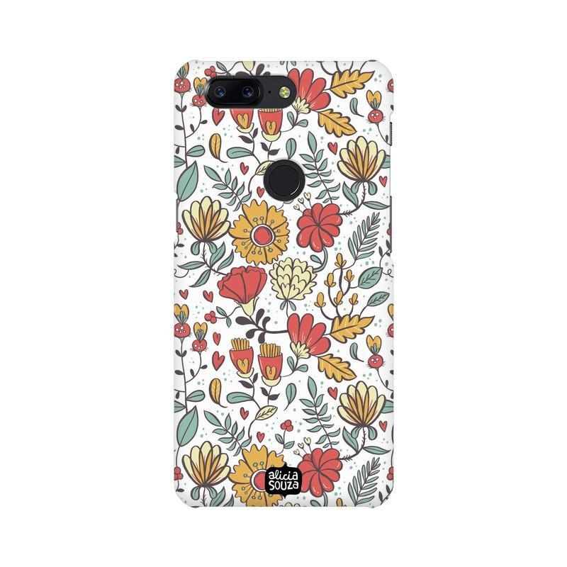 Big Flowers - OnePlus 5T Phone Cover
