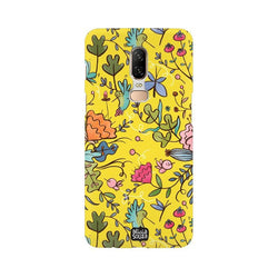 Humming Bird Yellow - OnePlus 6 Phone Cover