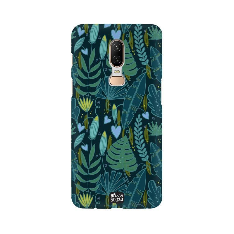 Green Leaves - OnePlus 6 Phone Cover