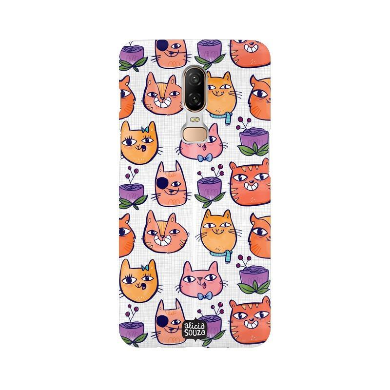Happy Cats - OnePlus 6 Phone Cover
